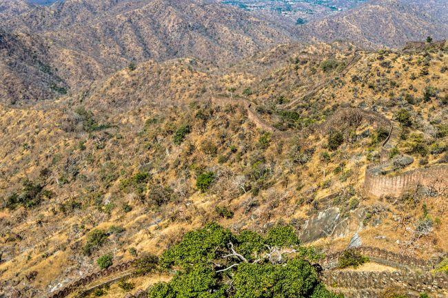 Aravali Hills from Badal Mahal