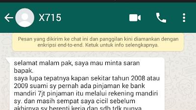 Blokir sepihak Bank Mandiri (38) Di ATM Disisakan 900 Ribu