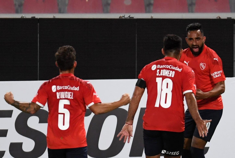 Independiente le ganó al City Torque de Uruguay y lidera su grupo en la Copa Sudamericana