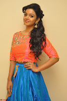 Nithya Shetty in Orange Choli at Kalamandir Foundation 7th anniversary Celebrations ~  Actress Galleries 014.JPG
