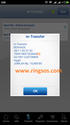Cara Mengisi Saldo Gopay Top Up Gopay