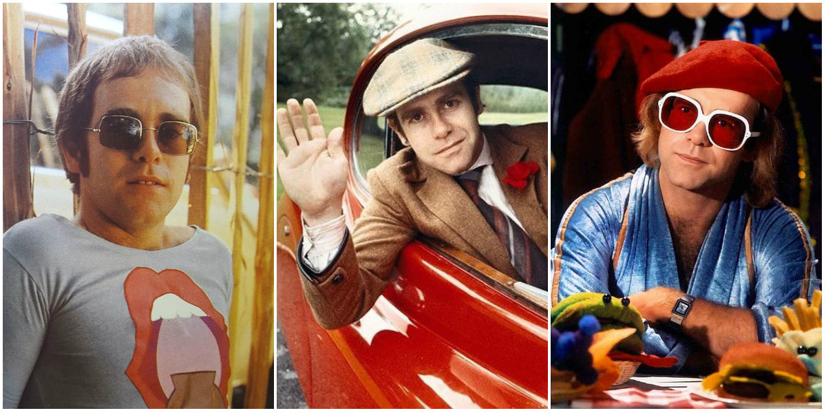 30 Amazing Color Photographs of a Young Elton John in the ...