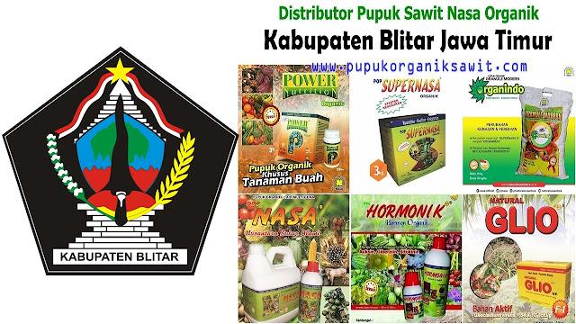 Distributor pupuk buah sawit Nasa Organik wilayah Kabupaten Blitar Jawa Timur (JATIM).