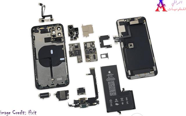 فريق iFixit يمنح iPhone 11 Pro Max درجة إصلاح تبلغ 6 درجات