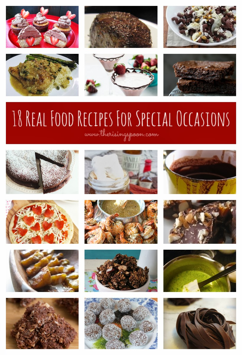 18 Real Food Recipes For Valentine's Day & Other Special Occasions | www.therisingspoon.com