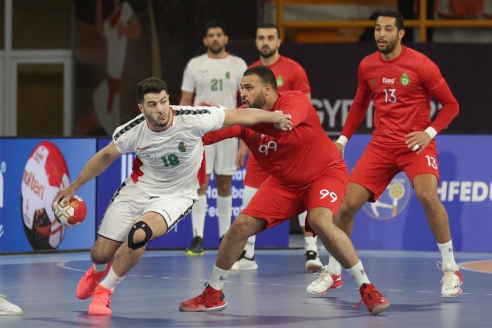 بطولة العالم لكرة اليد: فوز الجزائر على المغرب  24-23