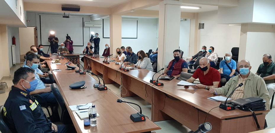 Συνεδρίασε το Συντονιστικό Όργανο Πολιτικής Προστασίας Έβρου εν όψει της χειμερινής περιόδου