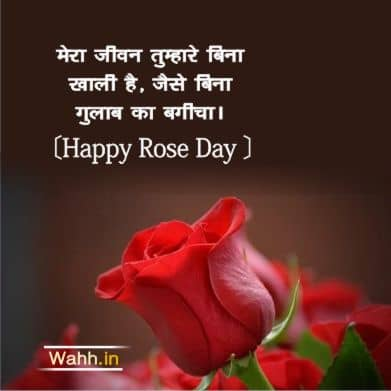 Rose Day Quotes for GF