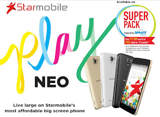 Starmobile PLAY Neo Announced, Comes with FREE 700MB Data Per Month