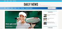 DailyNews Blogspot Theme/Templates