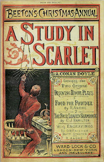The edition of Beeton's Christmas Annual featuring A Study in Scarlet