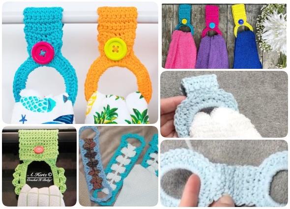 sujeta paños cocina, sujeta trapos, crochet, patrones, tutoriales