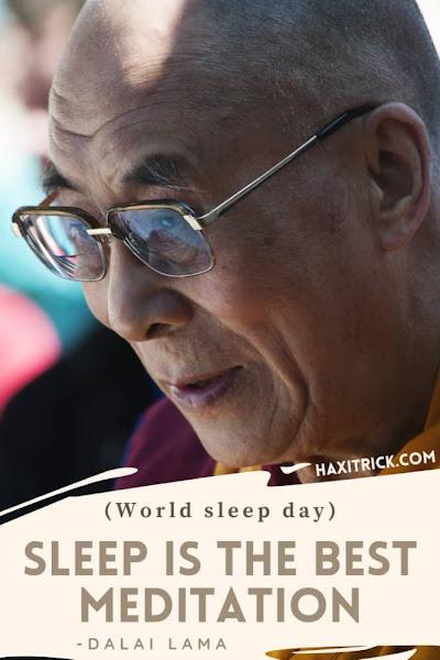 World Sleep Day Quotes in Hindi