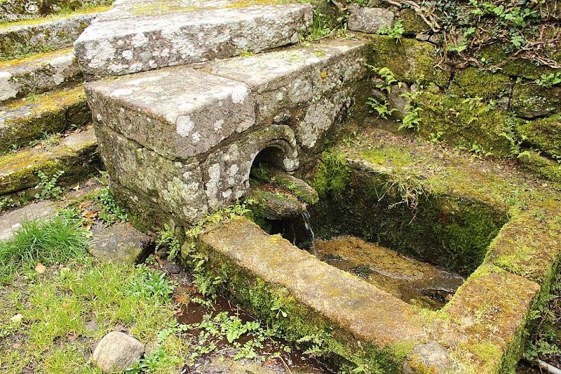Ribadeando esas fontes do cami o da auga como patrimonio for Jardin umbrio valle inclan