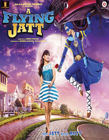 A Flying Jatt HDRip Hindi Movie ESubs