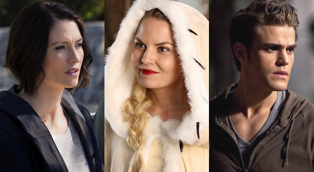 supergirl, once upon a time, the vampire diaries