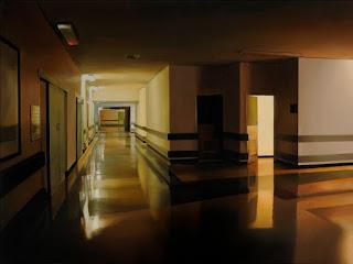 interiores-solitarios-pinturas-realistas representaciones-realistas-pinturas-interiores