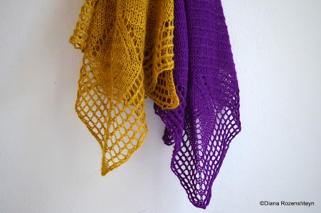Sunny with a chance of knitting new shawl pattern bougainvillea fandeluxe Gallery