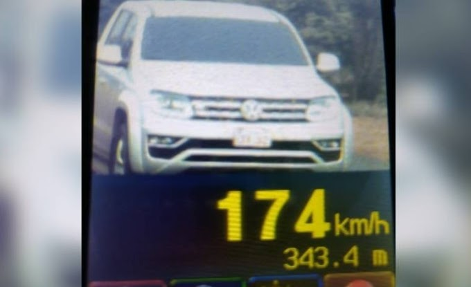 Operação Radar: Em via de 80 km, carro é flagrado a 174 km em BR do Paraná