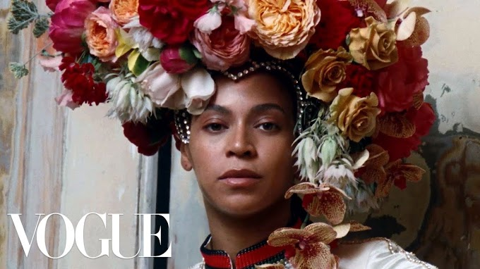Watch Beyonce & her Children on set for Legendary Vogue September Issue Cover Shoot