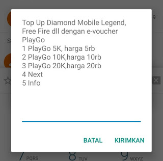 Cara Top Up Diamond Mobile Legends Pakai Pulsa XL Axis