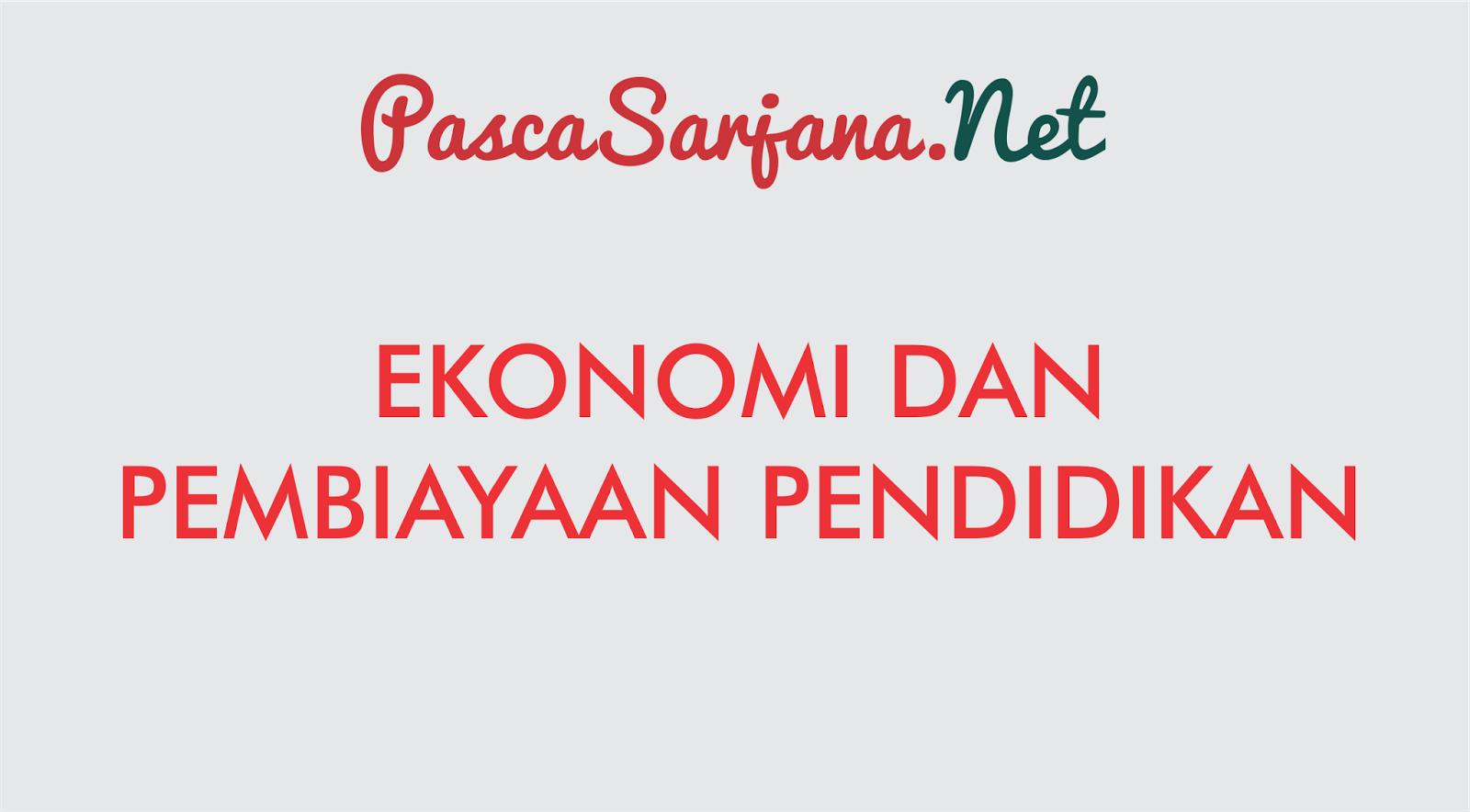 Ekonomi Dan Pembiayaan Pendidikan Materi Kuliah Lengkap Teori Makro Pratama