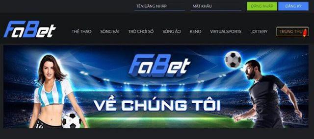 Nhà cái FABET - Địa chỉ cá cược bóng đá uy tín số 1