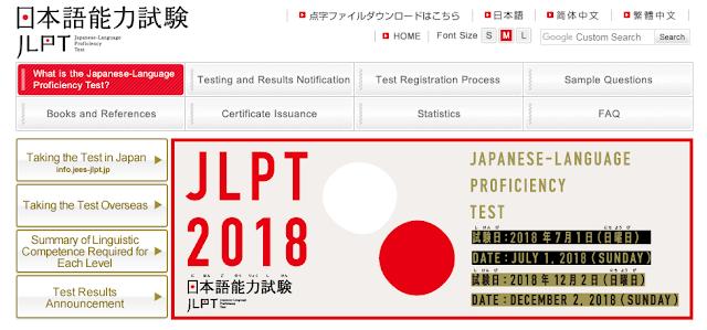 Cara Cek Hasil JLPT Juli 2018
