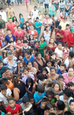 Dia das Crianças foi um sucesso no bairro Jardim Esmeralda, evento é realizado desde 1986
