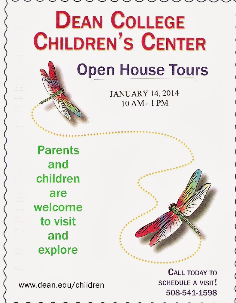 Dean College Children's Center - Open House Tours