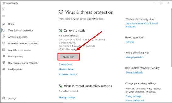 Laptop Terinfeksi Malware