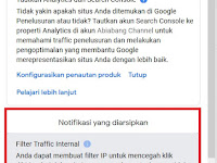 Filter Traffic Internal | Analytics Google