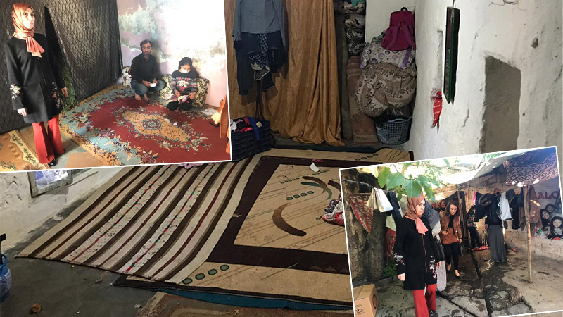 Kanser Hastası Birgül Köse'nin Evi