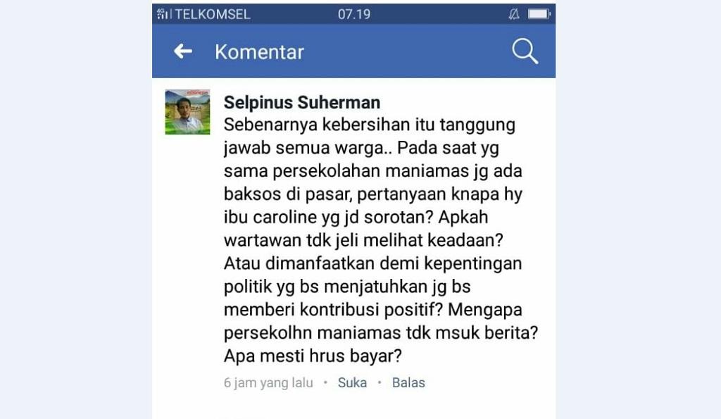 IWO Landak Sesalkan Pernyataan Kepala SMP Maniamas