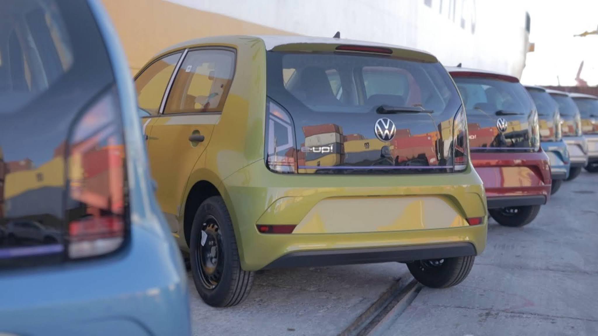 Novo VW Up! 2022 elétrico e-Up!