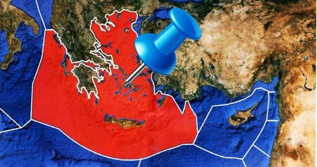 Πως η γεωγραφία ισχύος στο Αιγαίο επηρεάζει και την ΑΟΖ