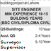 Surveyor, Civil Jobs Lahore Pakistan