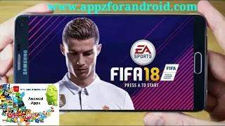 تحميل لعبة  فيفا 18 للاندرويد | Download Fifa 2018 For Android افضل العاب الاندرويد