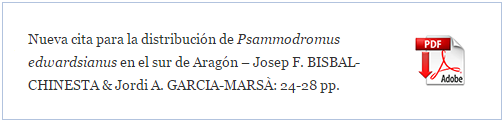 https://www.academia.edu/13518807/Nueva_cita_para_la_distribuci%C3%B3n_de_Psammodromus_edwardsianus_en_el_sur_de_Arag%C3%B3n