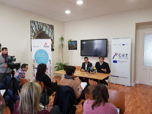 Colomer inaugura un aula CdT en Alcoi para acercar la formación turística al interior de la provincia de Alicante
