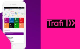 aplikasi traveling trafi