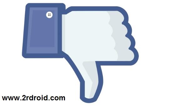 منصة فيس بوك تعمل على تجربة زر (ديس لايك) على تطبيق ماسنجر