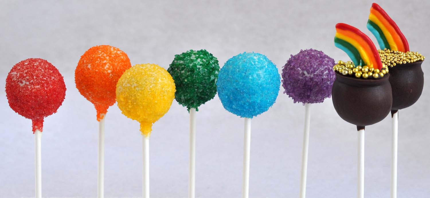 Beki Cook's Cake Blog: Pot O' Gold Cake Pops