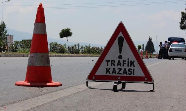 Bozova yakınlarında trafik kazası:2 yaralı