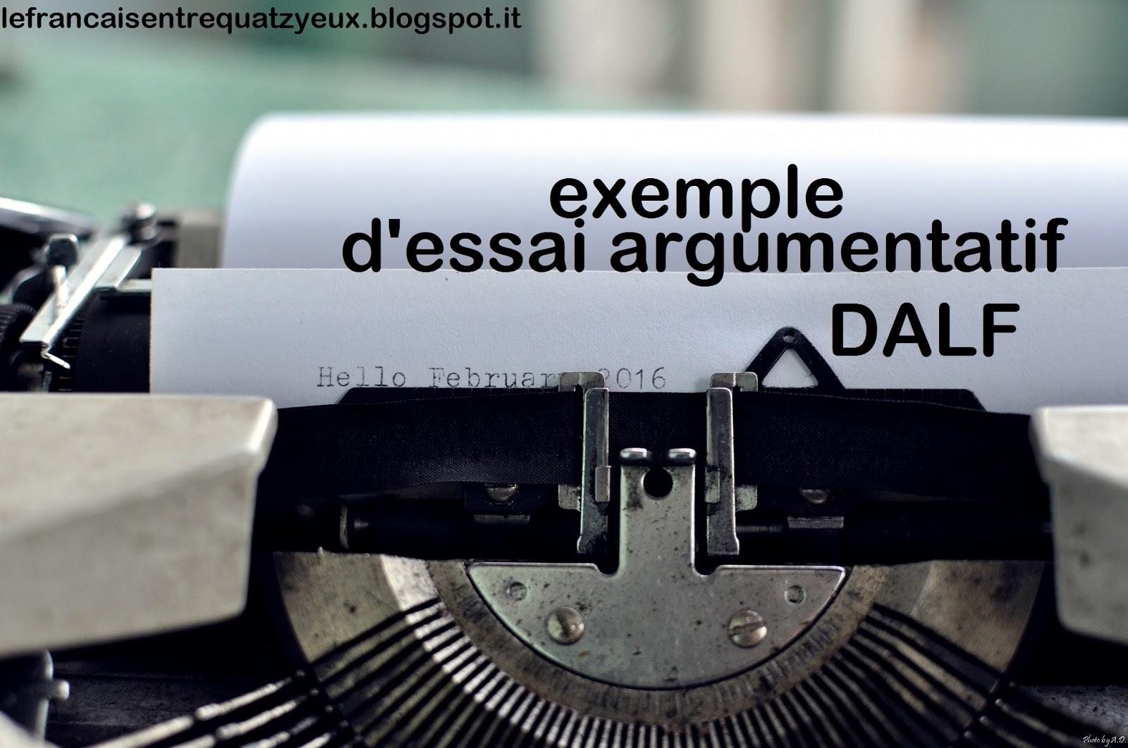 Exemple D Essai Argumentatif Sur Le Rapport Parent Enfant 250 Mots