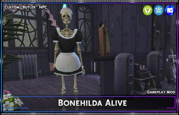 Bonehilda Alive - NPC