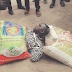 Man disgraced after buying two bags of rice with fake Naira notes in Lagos