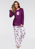 Pijama din material fleece