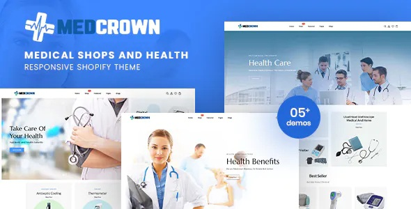 Best Medical Responsive Shopify Theme
