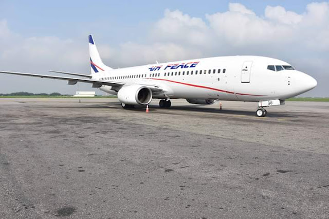 Check Out New B737-800 Generation Aircraft Air Peace Introduced Into Her Operations